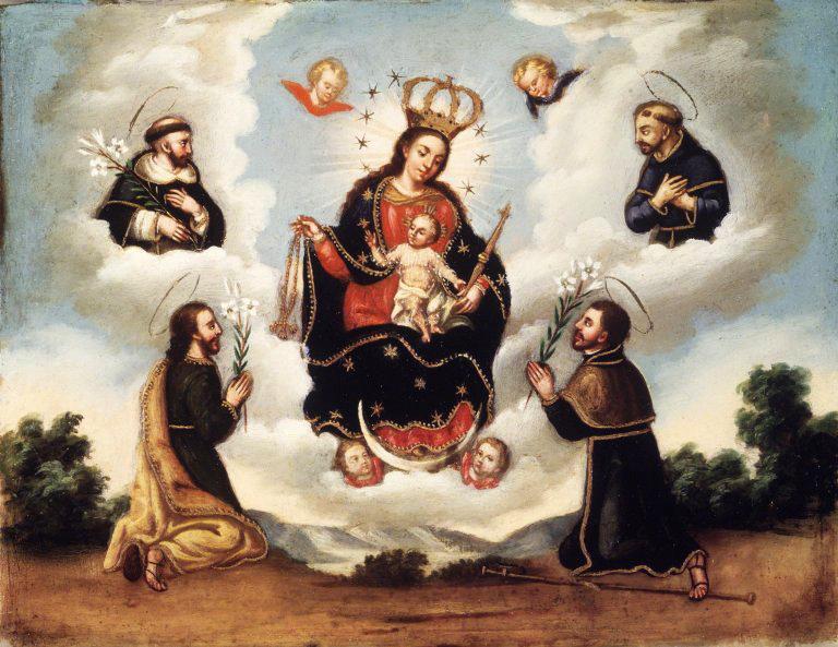 Resultado de imagen de Comentario «BENDITO SEA EL NOMBRE DE MARÍA, VIRGEN Y MADRE».