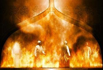 Sadrac-Mesac-Abed-nego-horno-fuego