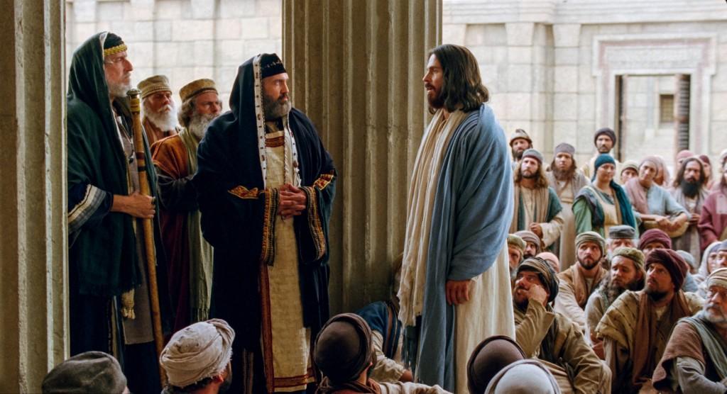 Jesús-fariseos